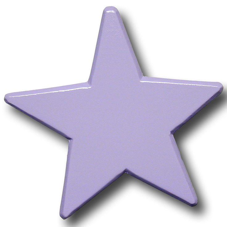 Star Pastel Purple Drawer Pull