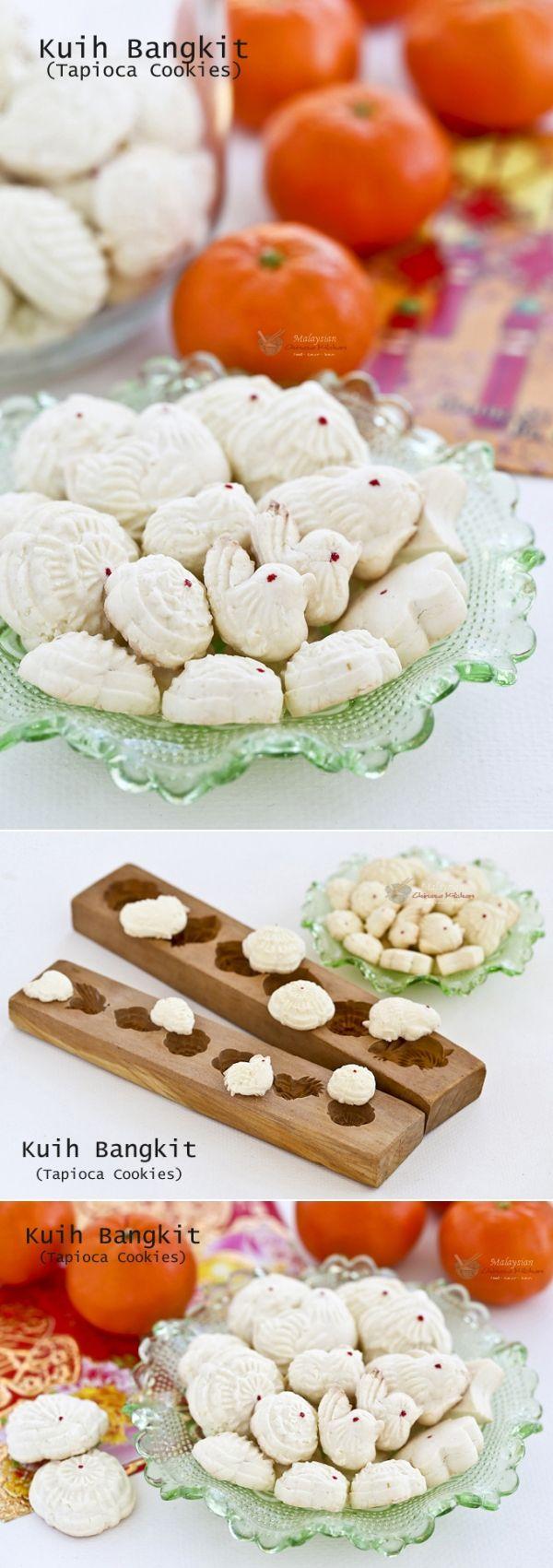 Kuih Bangkit (Tapioca Cookies) Receita Tapioca