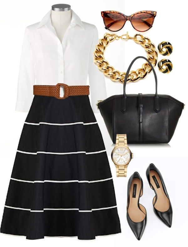 """Classy Office - Plus Size"" by alexawebb ❤ liked on Polyvore"