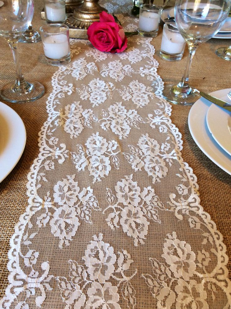 wedding ideas pinterest runners lace runner and chang 39 e 3