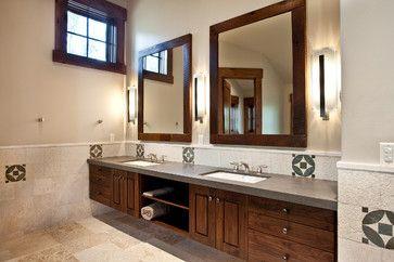 177 white pine - new build - rustic - bathroom - salt lake city - Jaffa Group Design Build