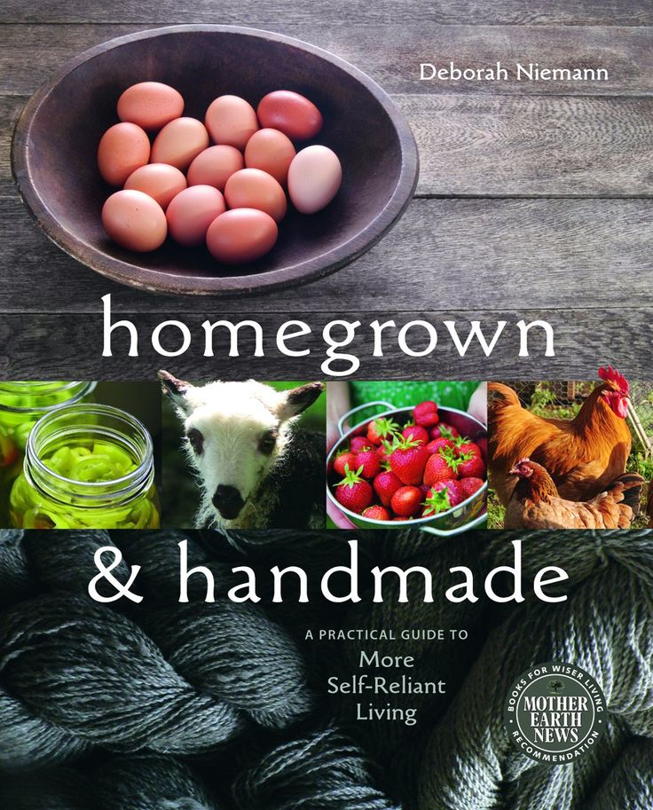 Homegrown and Handmade book and website - great book and website!