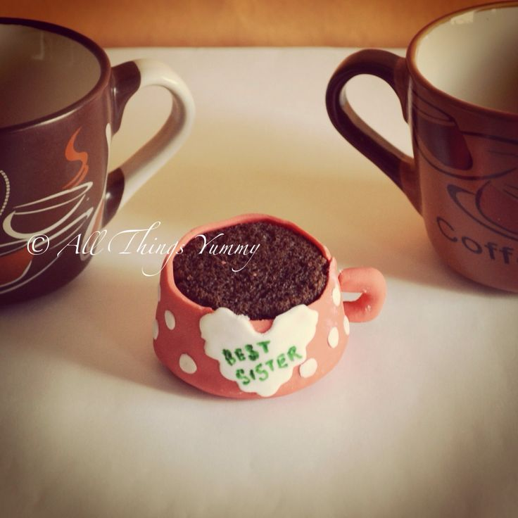 Have the best #sister in the world ? Get her a #cupcakemug    Don't worry .. It works the other way round too .. Best brother cups also available  #bestbrother #bestsister #cupcake #polkadots #atyummy #foodtalkindia #rakshabandhan #rakhi