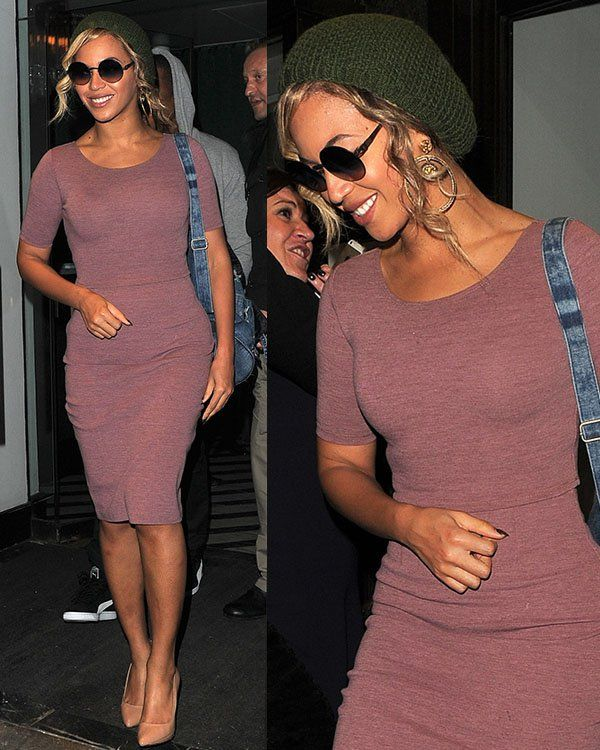 Beyonce dressed down on a date with Jay Z at Cecconi's restaurant in Mayfair, London, on March 7, 2014