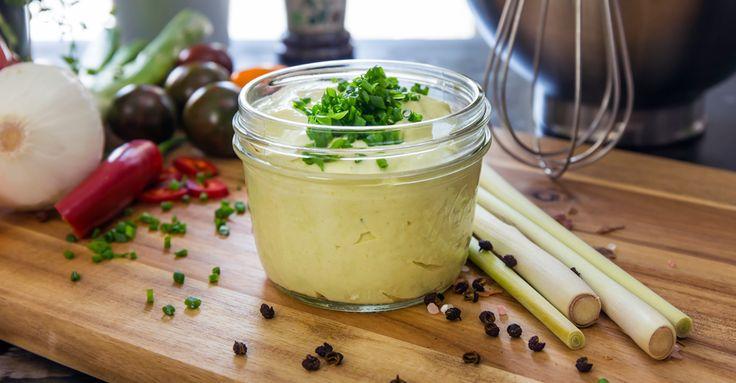 Krämig dressing med fräsch hetta. Den goda smaken kommer av majonnäs, crème fraiche, wasabi, lime, honung och en gnutta Ekologisk Grönsaksfond.