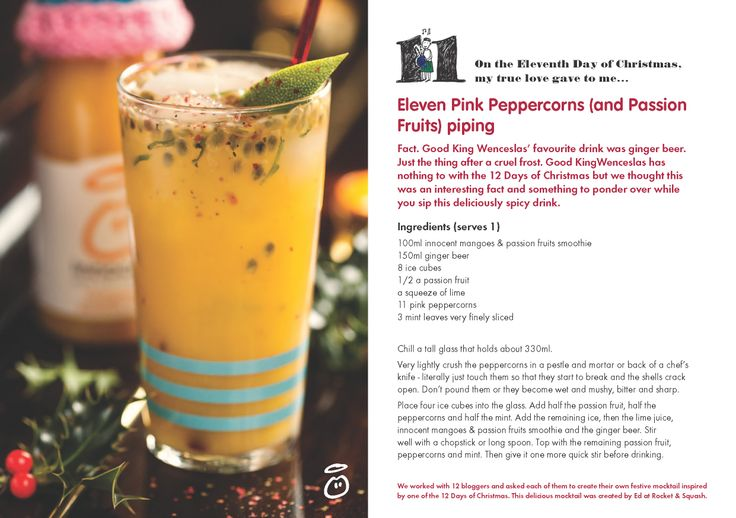 On the Eleventh Day of Christmas, my true love gave to me...Eleven Pink Peppercorns (and Passion Fruits) Piping