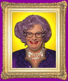 Hello Possums!! If you are lucky you might get a visit (of sorts) from Dame Edna, herself. Join us in the coming weeks for some #MICF fun in #HongKong #DameEdnaEverage