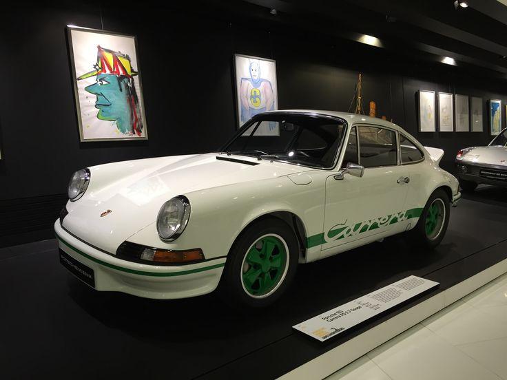 Porsche 911 Carrera Porsche Museum Stuttgart