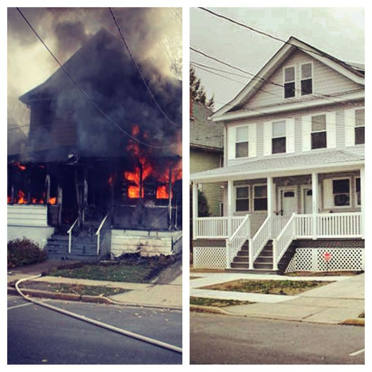 fire before and after pics - Google Search | House styles