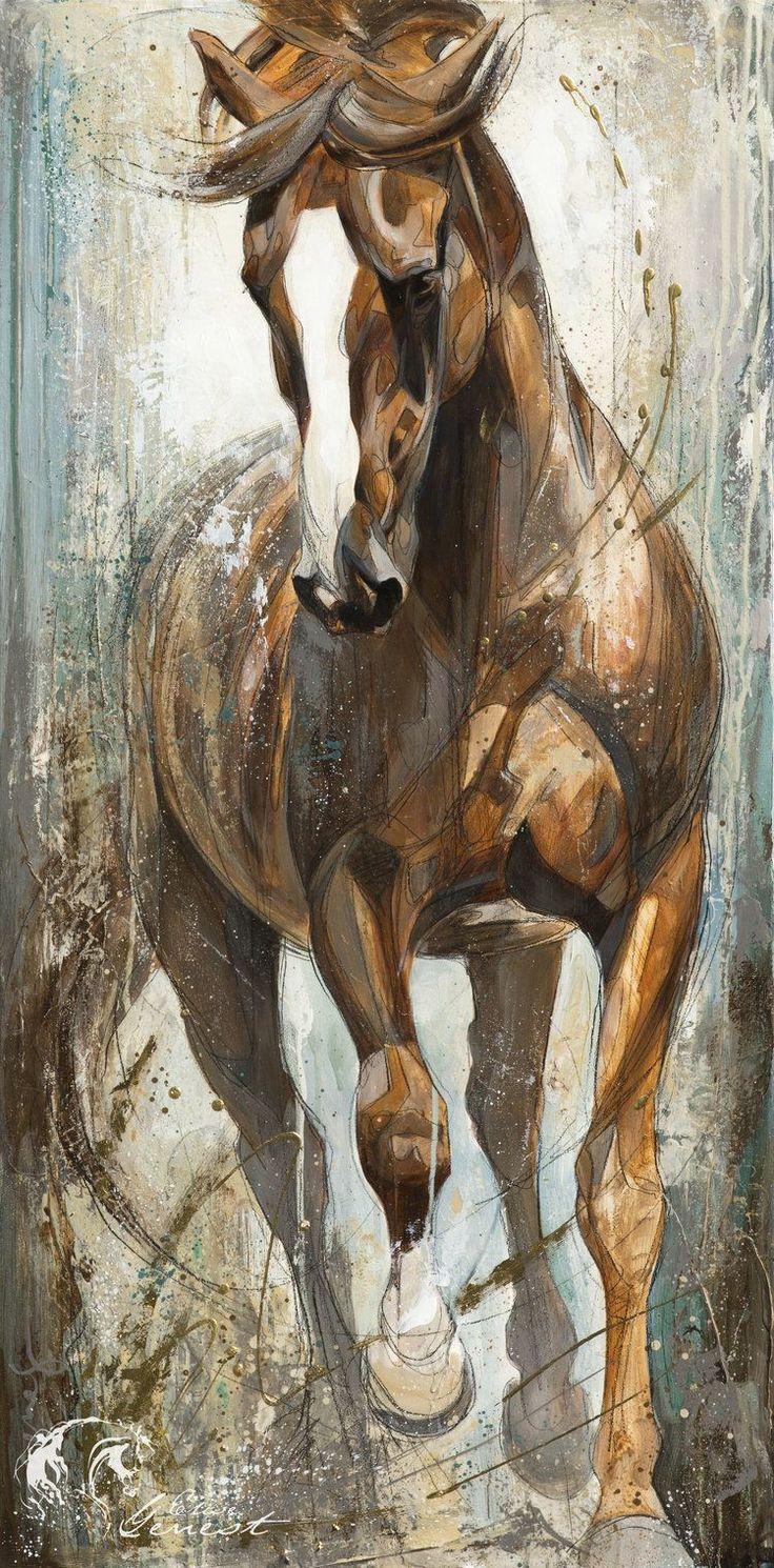 Illuminate by Elise Genest   Horse Art in 2019   Horse art ...
