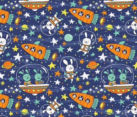 57 best sew fabric theme science images on pinterest for Space inspired fabric