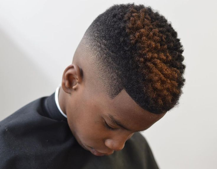 nice 25 Cool Ideas for Black Boy Haircuts - For Cute and Fancy Gentlemen