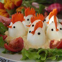 Wielkanocne kogutki w majonezie