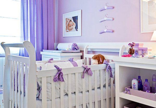 Decoração de quarto de menina  Quartos, Bebê e Ems