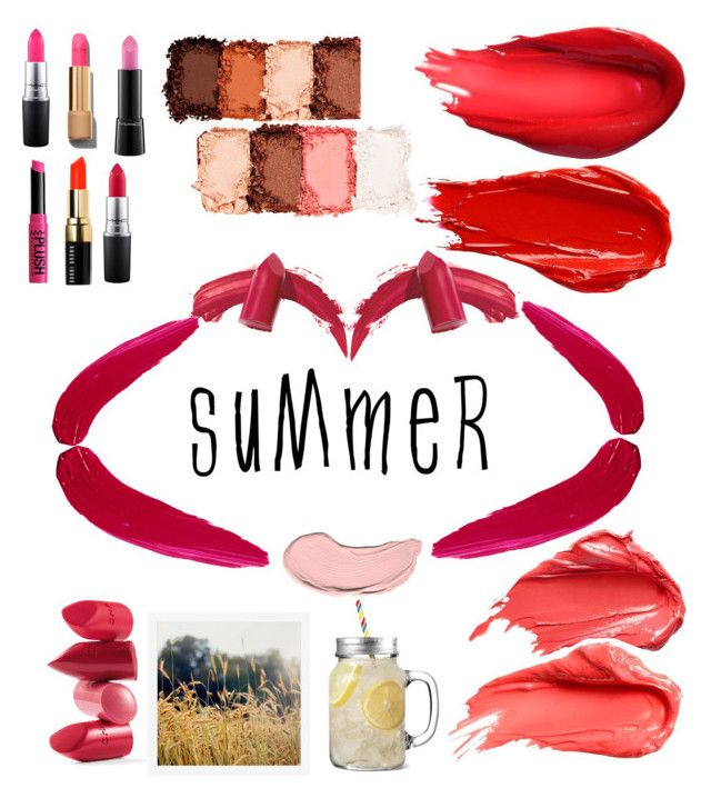"""""""Summer lips"""" by gaia-antea on Polyvore featuring beauty, Urban Decay, Elizabeth Arden, TheBalm, NYX, Rossetto, MAC Cosmetics, Chanel, Bobbi Brown Cosmetics and Pottery Barn"""