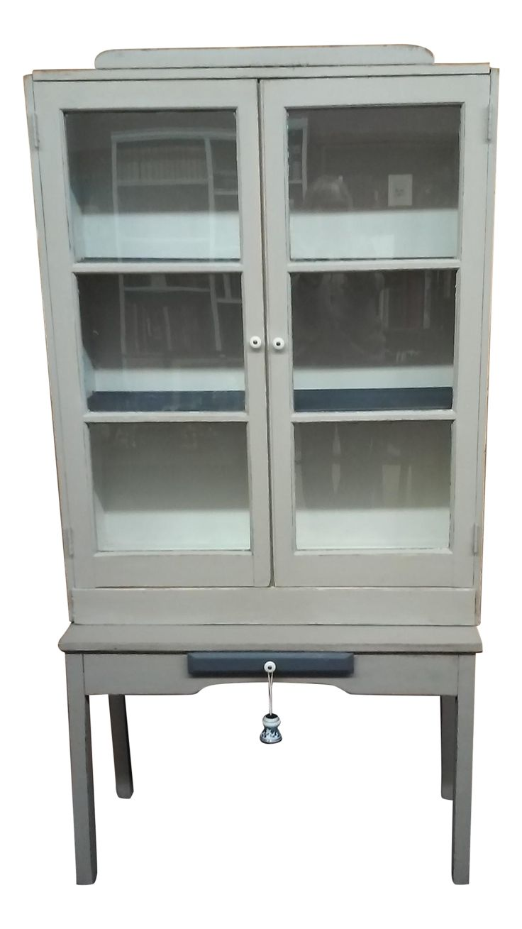 Primitive Kitchen Hutch