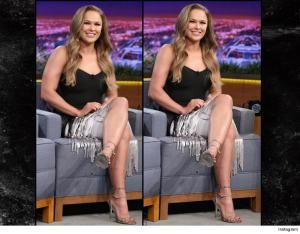 Nothing is real! Celebs like Ronda Rousey, Kim Kardashian, Beyonce, Lindsay Lohan and Miranda Kerr have all been caught Photoshopping their social media pics.