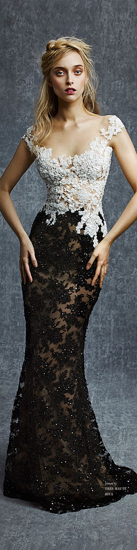 Reem Acra Pre-Fall 2015 prom dress This is not a prom dress. This is like an Oscar status dress. C'mon people
