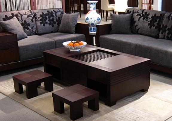 oriental coffee table zen living room inspiration