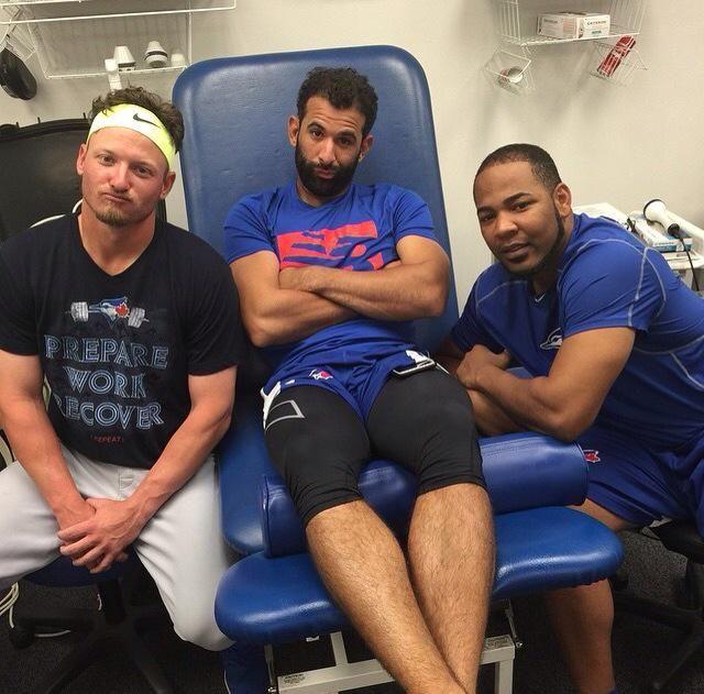 Josh, Jose & Edwin #TorontoPower #GoJaysGo
