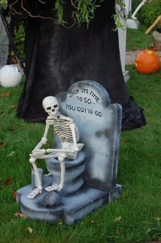When it's time to go, you gotta go! - Halloween Forum