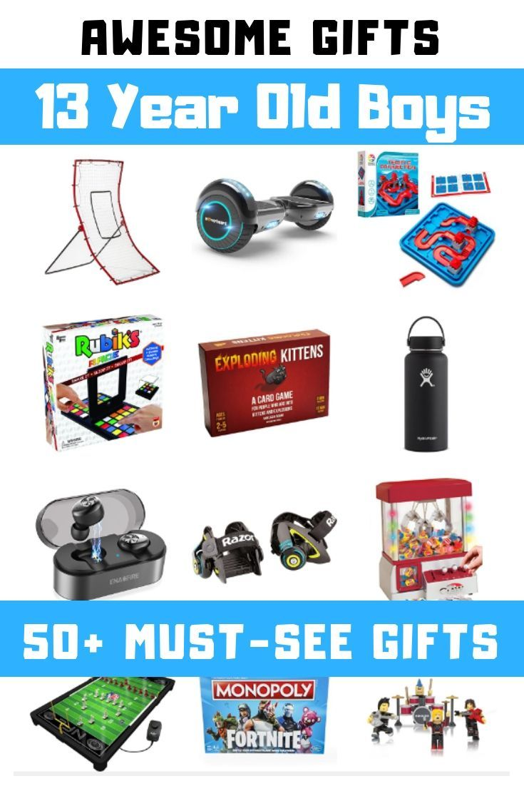50 Must See Gift Ideas For 13 Year Old Boys This Is The Top List Of Products Toys Electronics Sports Outdoors Ride On And Have Items That