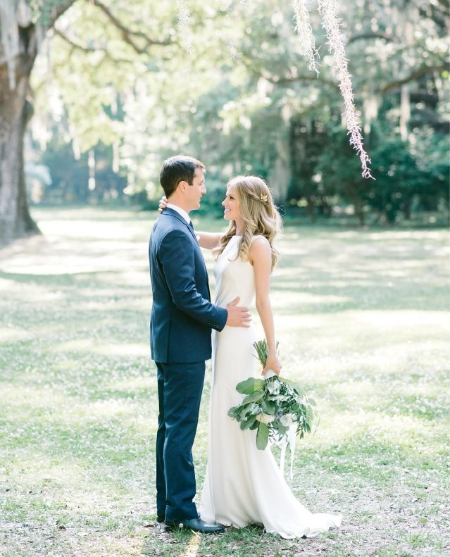 One couple trades a traditional wedding for an elopement styled to perfection at the Legare Waring House
