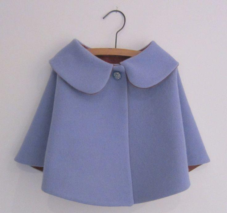 Estilo vintage venta cabo de lana de niños pequeños por OneMe