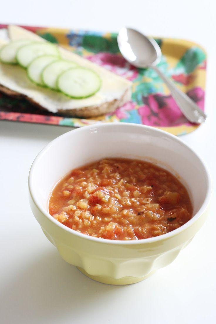 Nyttig, enkel, snygg... behöver jag sälja in den här soppan mer? Röd linssoppa. En återkommande klassiker hemma hos oss. Kanske inte riktig...