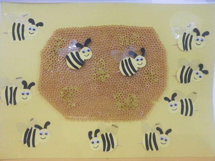 arı ve arı kovanı sanat etkinliğimiz