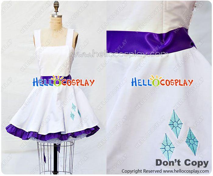 My Little Pony Cosplay Rarity Costume Retro Style Dress