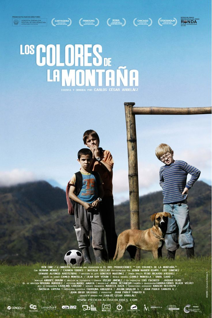 It is always a challenge to find good, appropriate movies for Spanish class. So when I saw the movie Los Colores de la Montaña , I decided I. Spanish Teacher, Spanish Classroom, Teaching Spanish, Ap Spanish, Spanish Culture, Soccer Theme, Play Soccer, Movie Gifs, I Movie