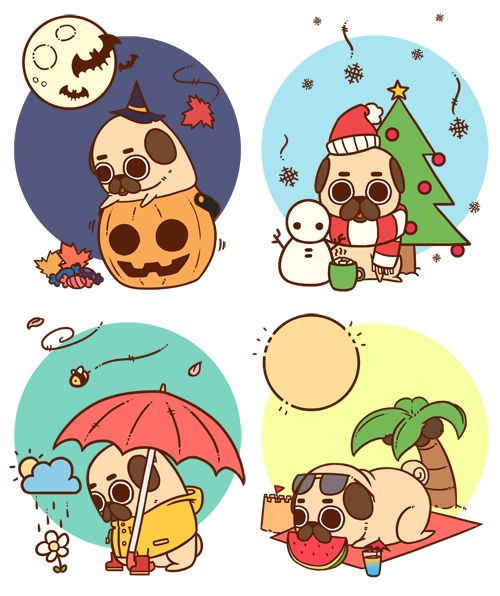 Puglie through the seasons.