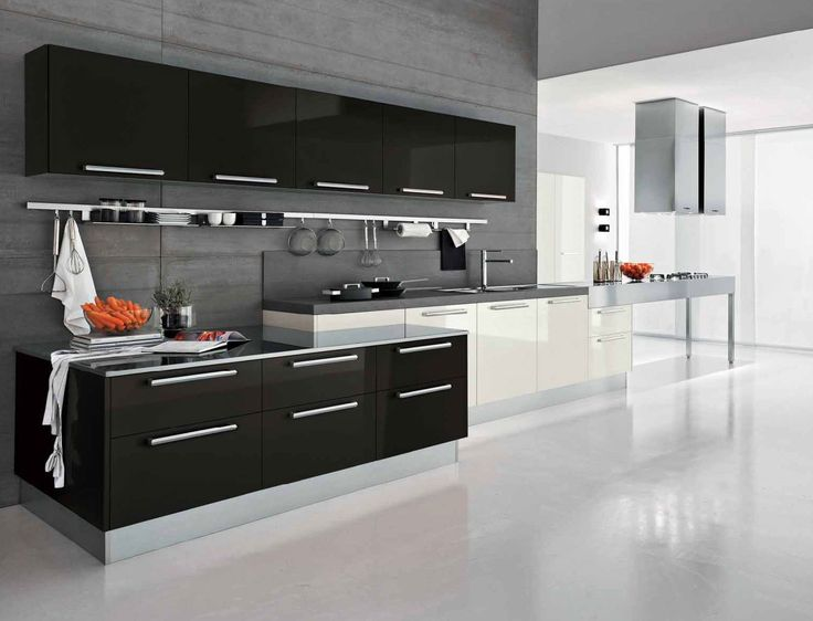 Best 25+ Black white kitchens ideas on Pinterest | Contemporary ...