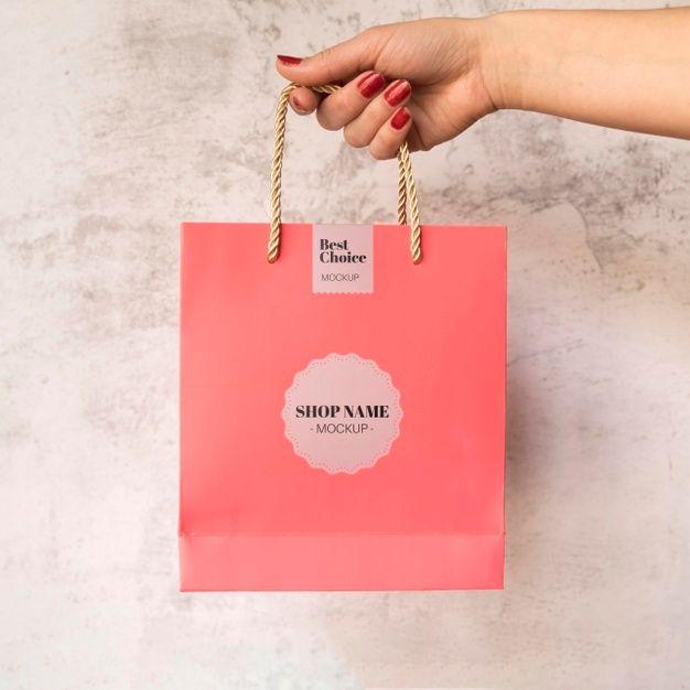 Download Baixe Saco Com Maquete De Campanha De Venda Gratuitamente Sale Campaign Freepik Bags