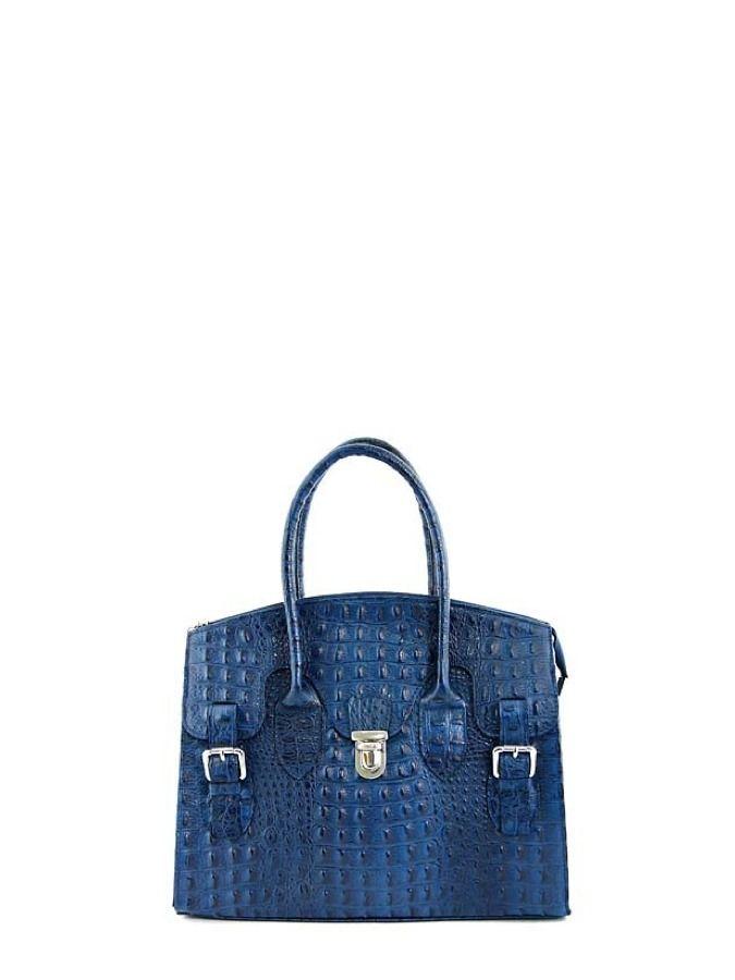 Granatowa torebka skórzana do ręki. Elena Andrea 299 PLN  #sale #limango #bag #fashion
