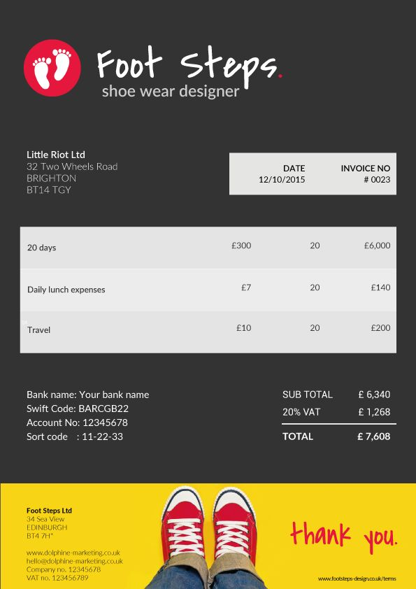 27 best Creative invoice templates for freelancers images on - invoice web app