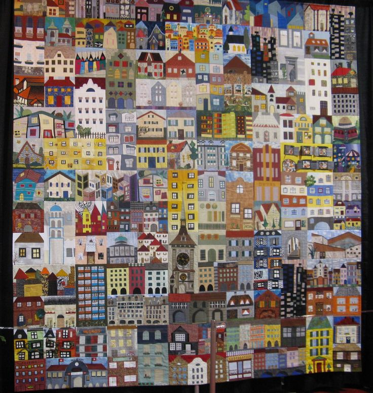 house quilt | One hundred fifty six different blocks