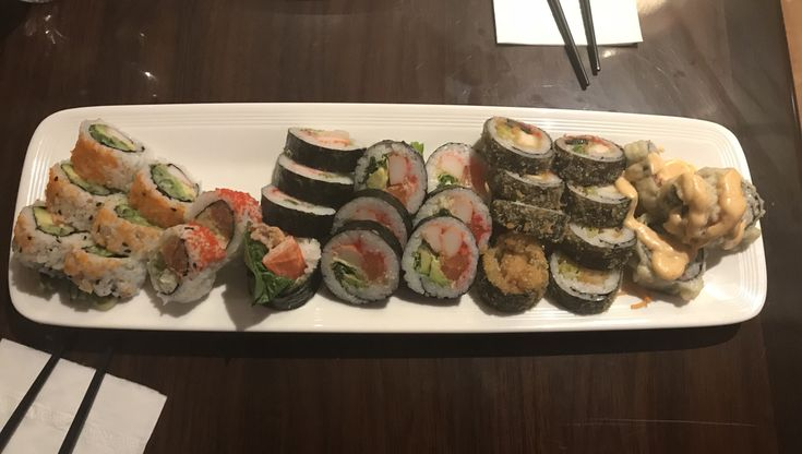 Obsessing over this Sushi restaurant #sushi #restaurants #lifestyle #lifestyleblogger #foodie
