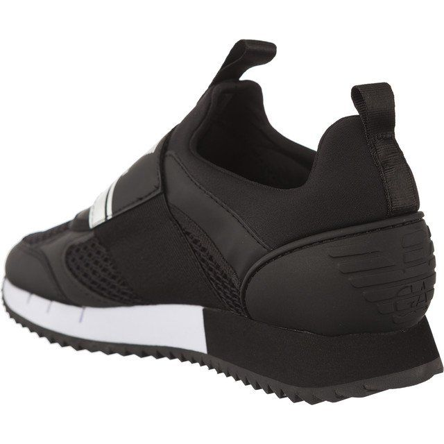Sportowe Damskie Ea7emporioarmani Ea7 Emporio Armani Czarne Ea7 Emporio Armani Black White U Armani Black Puma Fierce Sneaker Top Sneakers