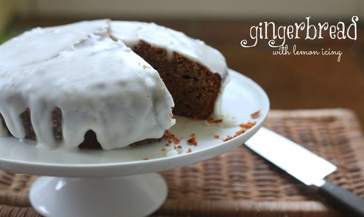 We simply adore this Gingerbread with Lemon Icing recipe from Mummy Mishaps! Check out her blog for more inspiring recipes...