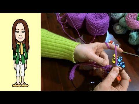 RVO - Raglan von oben Pullover stricken mit V-Ausschnitt (Teil 1 von 12) - YouTube