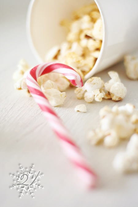 spicy Christmas popcorn/recipe