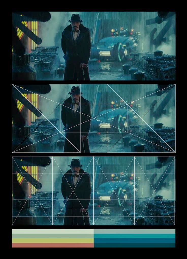 Flooby Nooby: Composition & Color Analysis of Blade Runner (1982)