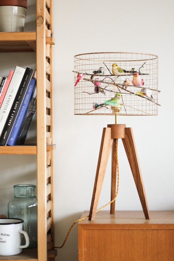 This Bird Light Is The Internets Latest Obsession The Whoot Decor Diy Table Lamp Unique Table Lamps #unique #living #room #lamps