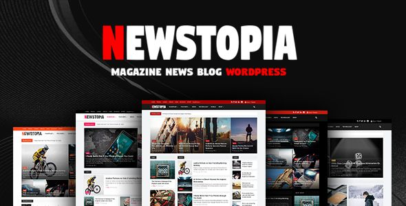 Free Download Newstopia - WordPress Blog Magazine Theme