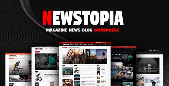 Download Newstopia - WordPress Blog Magazine Theme