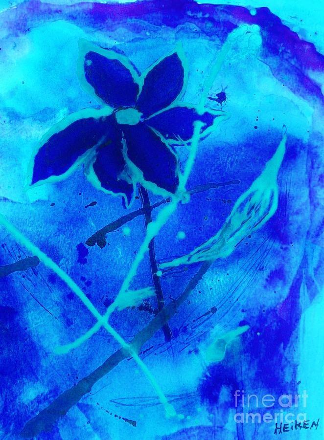 Floating Sea Flower Painting