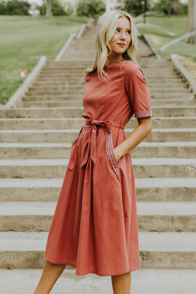 Clarissa Stitched Dress Creating an effortless loo…