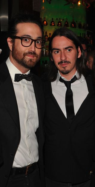 """Second generation Beatles, Sean Lennon and Dhani Harrison... 'We don't see each other that often, but when we do, sometimes we'll just look at each other and go, """"Whoa, dude… you look like my dad's best friend.""""'-Dhani Harrison"""